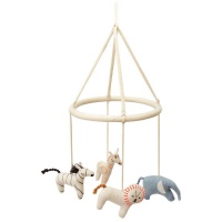 Safari Animal Baby Mobile By Meri Meri